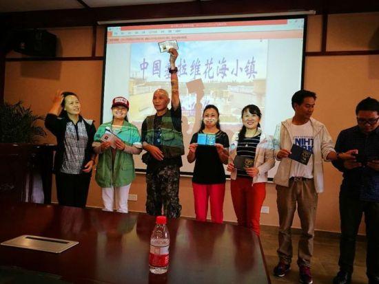 现场为新会员颁发了《中国航空学会会员证》