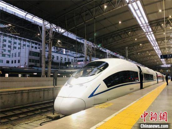 郑太高铁全线首次试运行 郑州至太原两小时可达