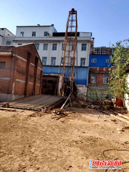 破坏地下水资源 河南扶沟市民城中心打千米深井官方速查罚款3万