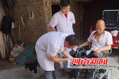 郑州市第一人民医院赴登封开展健康扶贫巡回义诊活动