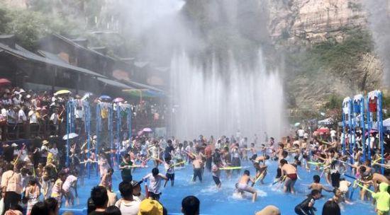 """多种玩法吸引游客 宝泉这个夏天成""""网红"""""""