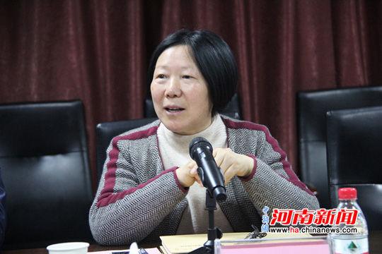 河南省实验幼儿园园长张秋萍致辞
