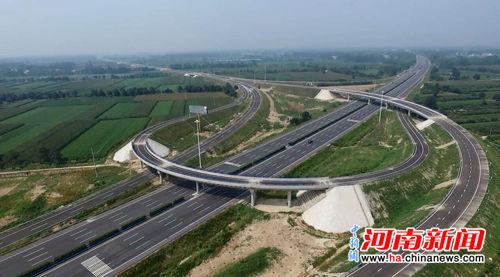 郑州至民权高速公路开封至民权段正式建成通车