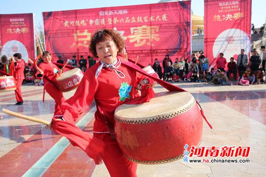 河南艺术中��n��/cyf_河南原阳县举行第六届盘鼓艺术大赛