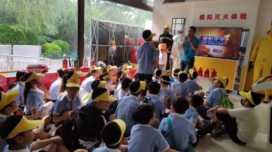 郑州管城区5000余名学生开展春季体验式安全教育活动